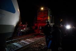 خروج قطار مسافربری زنجان -تهران از ریل - ۲