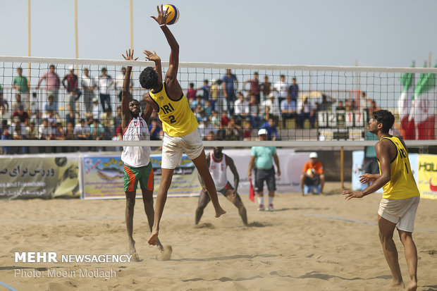 Final match of FIVB Beach Volleyball World Tour 1 star