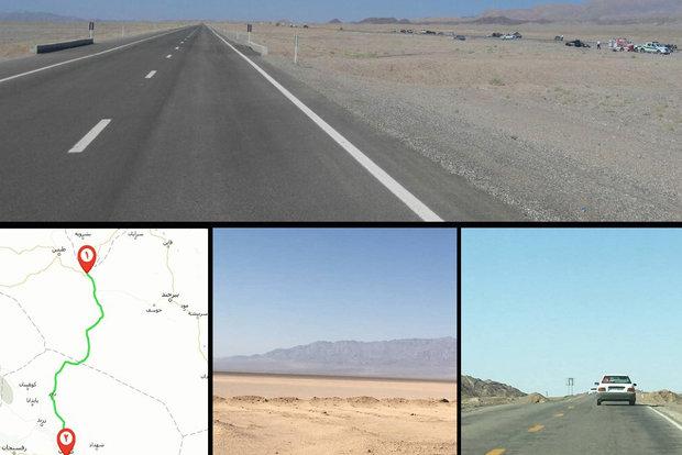 مصائب مسیر تردد زوار شرق به مشهد/جادهای در میان آتش و فراموشی