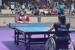 بانوی پینگپنگباز ایران از دور مسابقات کنار رفت