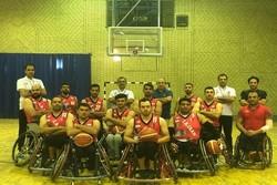 پیروزی تیم ملی بسکتبال با ویلچر با ۱۰۰ اختلاف امتیاز