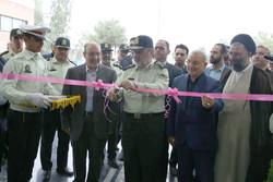 ساختمان پلیس راه قم افتتاح شد