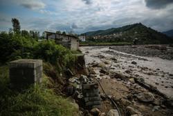 رودخانه های مازندران به گِل رسیده است