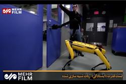 تست قدرت «ایستادگی» ربات شبیهسازی شده