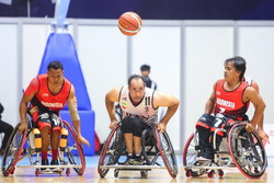 Iran beats Indonesia in wheelchair basketball of Asian Para Games