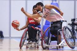 پیروزی تیم ملی بسکتبال با ویلچر ایران برابر اندونزی
