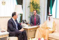 وزیر خارجه افغانستان با ولیعهد کویت دیدار کرد