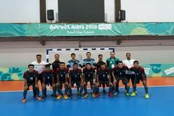 ايران تهزم جزر سليمان في اولمبياد الشباب بكرة الصالات