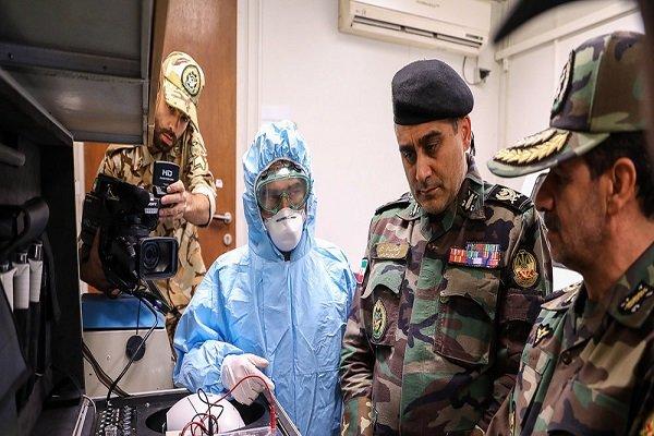 الجيش الايراني يقيم مستشفيين ميدانيين في معبري مهران وجذابه