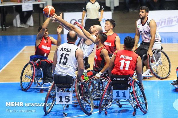 تیم بسکتبال باویلچر طلایی شد/ کاروان ورزش ایران در جایگاه سوم