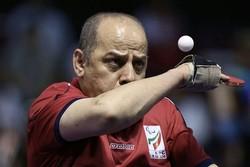 Iran's Janfeshan gains bronze in tennis table