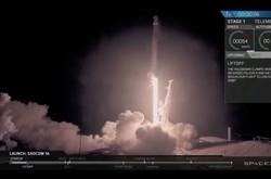 اسپیس ایکس ماهواره قطری را به فضا برد