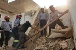 انفجار گاز در «منجیل آباد» رباط کریم/یک خانه کاملا تخریب شد