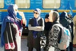 Golden Eagle luxury tourist train arrives in Iran