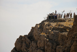 IRGC military drill around Shaho Mountain