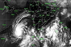 هواشناسی نسبت به وقوع طوفان حاره ای در اقیانوس هند هشدار داد