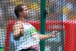 Iran bags three medals in discus throw