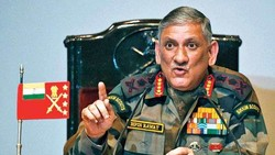 Indian army chief Gen. Bipin Rawat