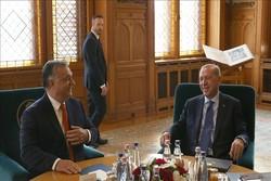 رؤسای جمهوری ترکیه و مجارستان دیدار کردند
