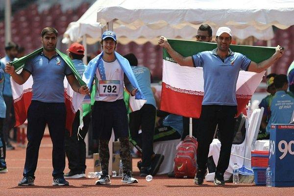 Iran gains 4 medals in athletics
