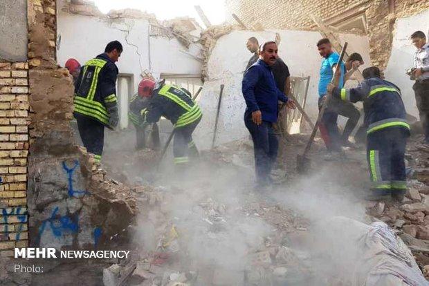 انفجار در منزل مسکونی اهواز/ ۳ نفر مصدوم شدند