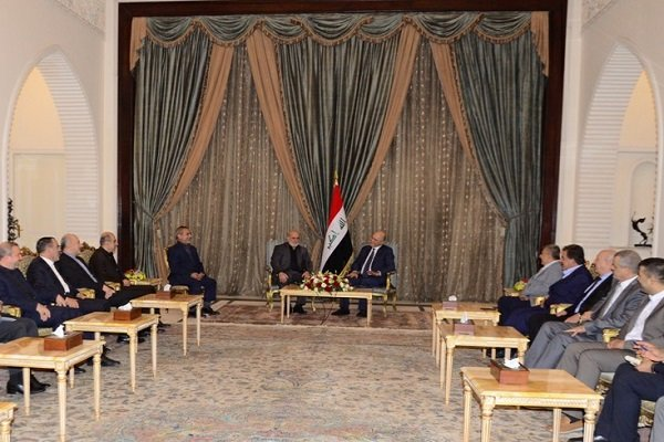 Iraq's new president calls for expansion of ties with Iran