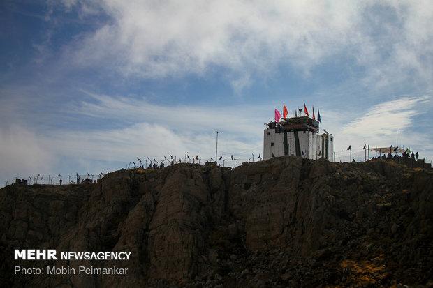 رزمایش محرم ۲ در ارتفاعات شاهو