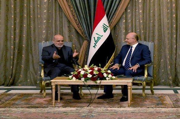 الرئيس العراقي يثمن دور ايران في محاربة الارهاب
