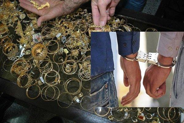 سارقان طلا در اسفراین دستگیر شد