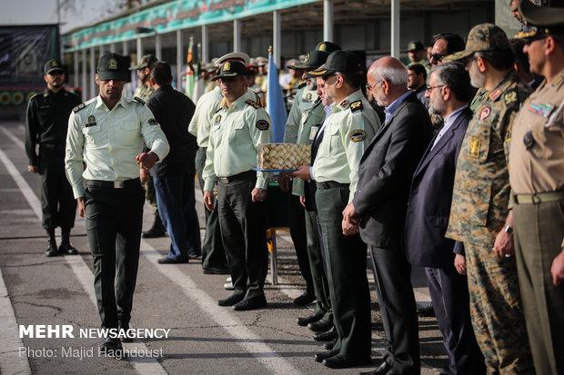مراسم صبحگاه عمومی ناجا تهران بزرگ