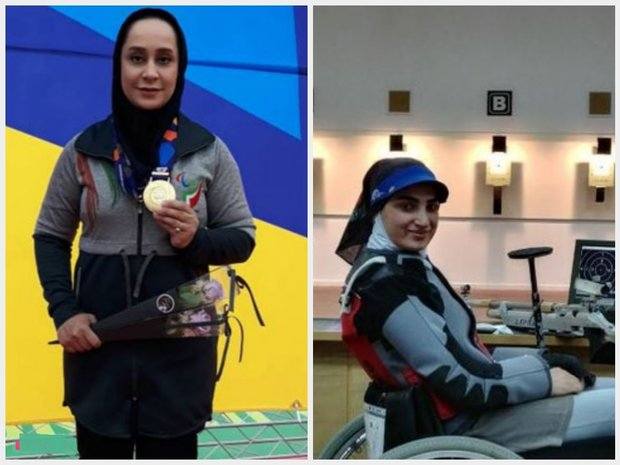 Women para-shooters gain two gold medals