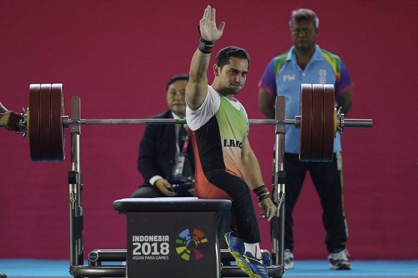 Iranian para-powerlifters gain 1 gold, 1 silver
