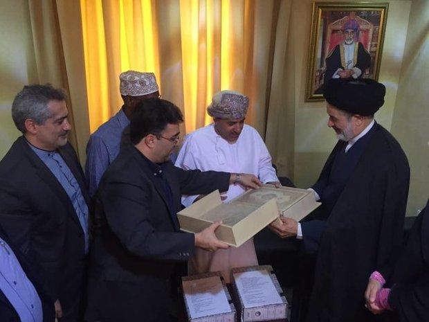 Iranian cultural delegation visiting Oman