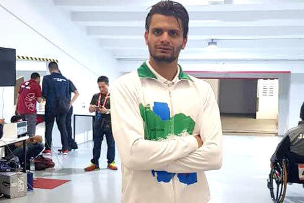 علی نجیمی به مدال طلای دوی ۴۰۰ متر مردان رسید