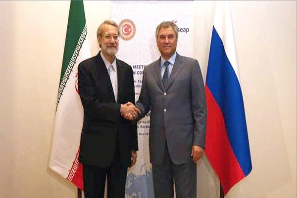 Iran parl. speaker calls for coop. to confront US aggressive policies