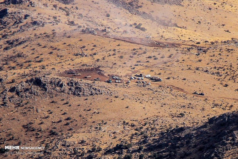 رزمایش محرم دو در ارتفاعات شاهو