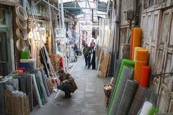 تبریز کے بازار میں کار وبار معمول کے مطابق جاری