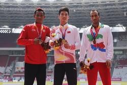 احمد اجاقلو در ۲۰۰ متر مدال برنز گرفت