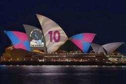 تبلیغ مسابقات سوارکاری روی دیوارهای تالار اپرای سیدنی جنجالی شد