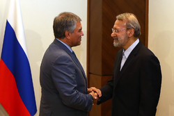 Larijani's meeting with Russia's Volodin in Turkey