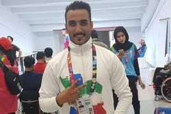 ظریف به مدال برنز دوی ۱۰۰ متر مردان رسید