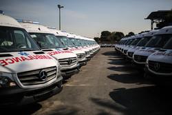 ۲۲ دستگاه خودرو آمبولانس به ناوگان فارس اضافه شد