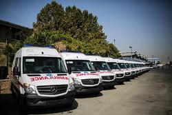 پوشش مسیر زوار اربعین با بالگرد امداد و ۴۰ دستگاه آمبولانس