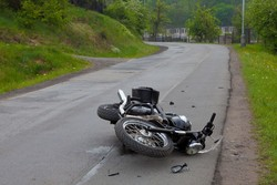 Motorcycle riders constitute 25% of traffic related deaths