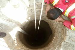 نجاتزن ۴۲ ساله سنندجی از درون چاه/انجام ۲۱۱ عملیات در تیر ماه