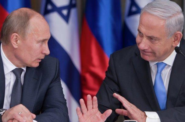 نتانیاهو: با پوتین در مورد حضور ایران در سوریه گفتگو می کنم