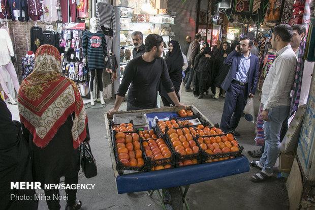سوق تبريز يفند الشائعات المعادية
