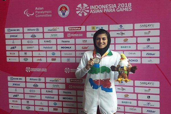 گزارش خبرنگار مهر از اندونزی؛ صفرزاده به مدال برنز دوی 100 متر بانوان رسید