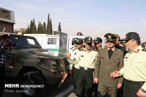 Delivery of military equipment to Law Enforcement Force