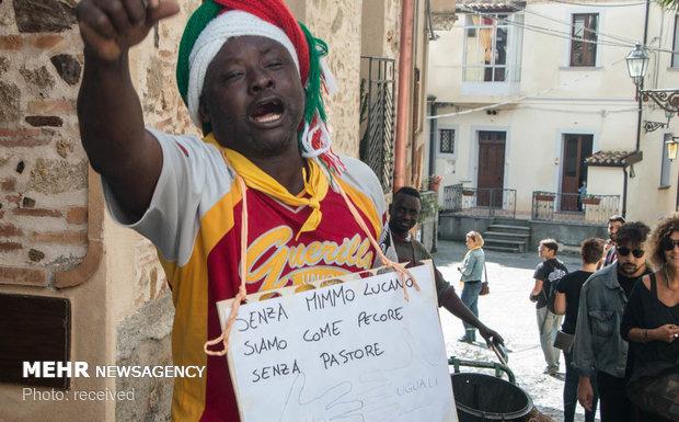 اسکان مهاجران در یکی از روستاهای ایتالیا